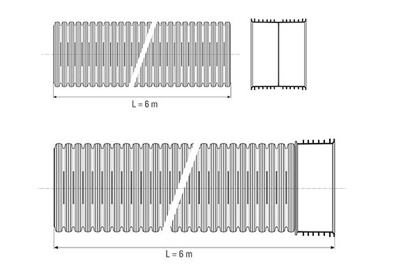 DRENOPAL Disegno tecnico