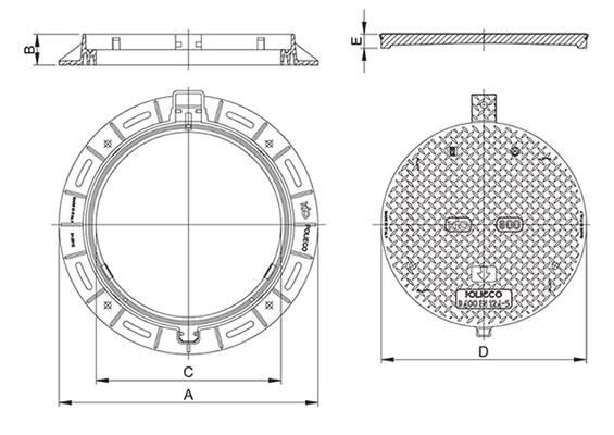 KIO D400 Disegno tecnico