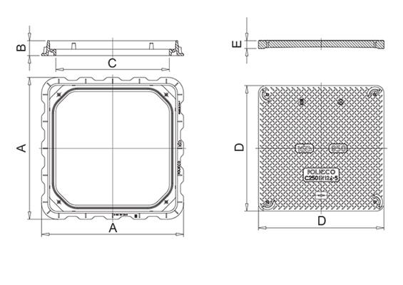 KIO C250 Disegno tecnico